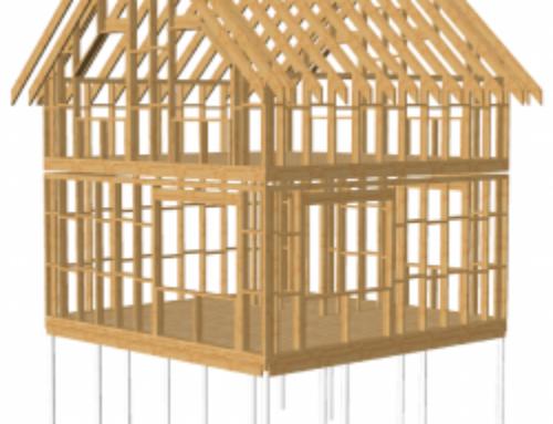 Как самому построить каркасный загородный дом 6х6 ?
