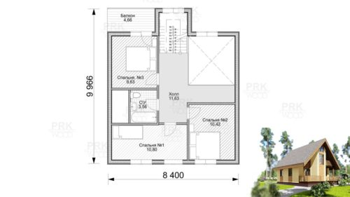 план 2-ого этажа